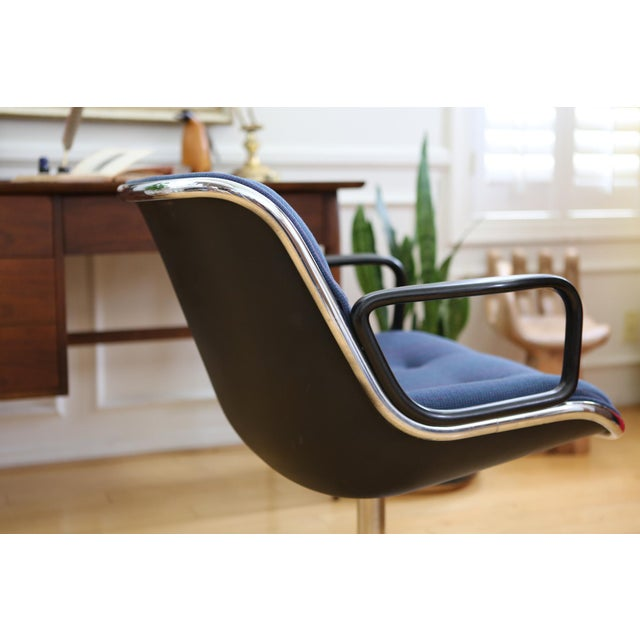 Mid-Century Modern Knoll International Desk Chair - Image 4 of 9