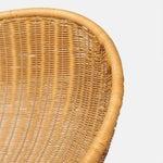 "Image of ""Foglia"" Wicker Lounge Chair by Giovanni Travasa"