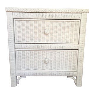 Henry Link Wicker Commode