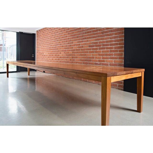 Image of Custom Mahogany Dining Table