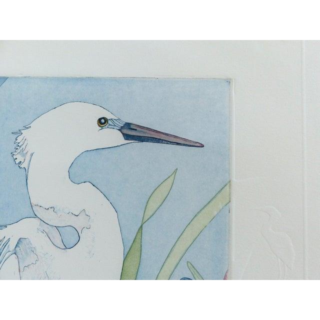 "Judith Hall ""The Rookery"" Intaglio Print - Image 2 of 10"