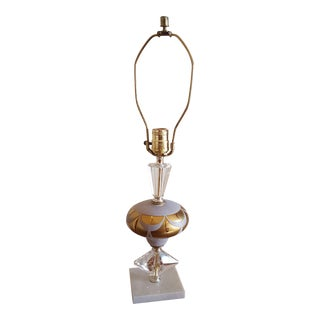 Hand Imported Cut Table Lamp