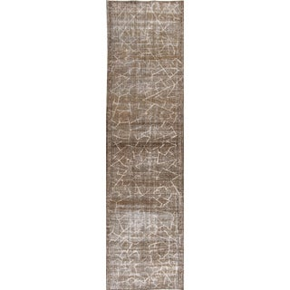 "Apadana - Vintage Distressed Persian Tabriz Rug 2'9"" x 10'8"""