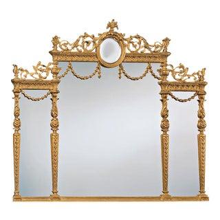 Decorative Crafts Italian Gold Leaf Mirror