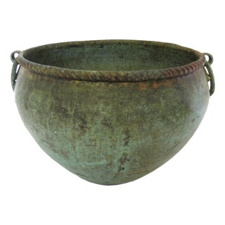 Copper Ring Handled Pot