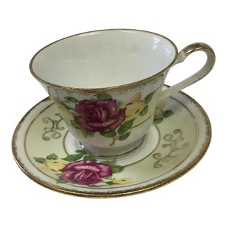 Norleans Japan Vintage China Teacup & Saucer