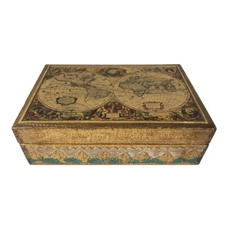 Vintage Florentine Italian Gilt Box