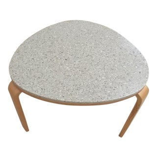 Granite D Scan Side Table