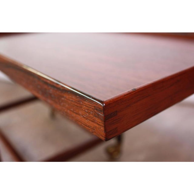 Poul Hundevad Rosewood Modular Bar Cart - Image 5 of 10