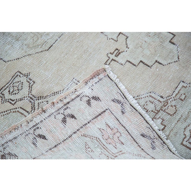 "Distressed Oushak Rug - 4'8"" X 7'5"" - Image 6 of 10"