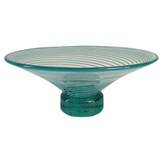 Mid-Century Modern Dino Marten-Style Murano Bowl