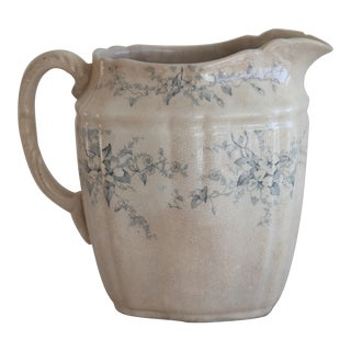 Antique English Transferware Pitcher