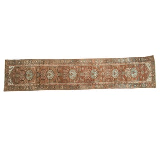"Vintage Distressed Malayer Rug Runner - 2'7"" x 12'2"""