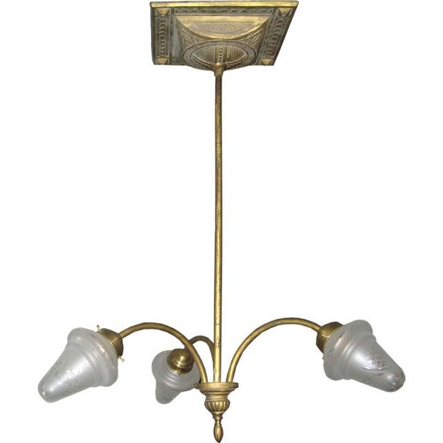 Image of Liberty Italian Brass Chandelier