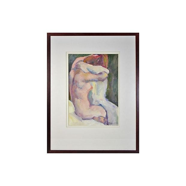 "Sally Hamilton ""After the Bath"" Painting - Image 1 of 2"
