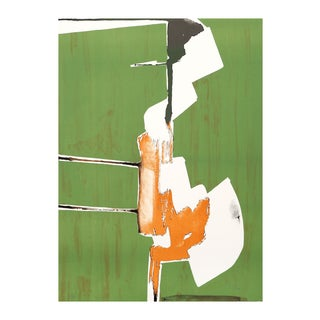 """Dimitri Petrov """"Abstract Handstand"""" Lithograph"""