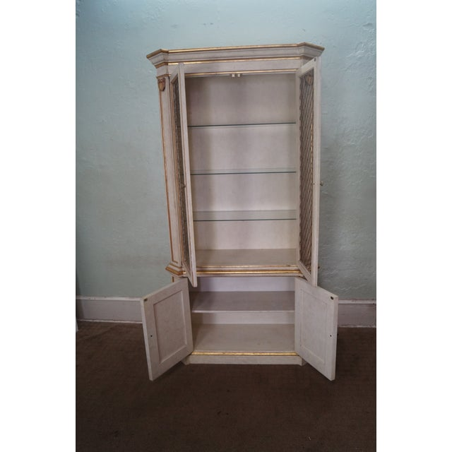 Widdicomb Hollywood Regency Style Tall Cabinet - Image 4 of 10