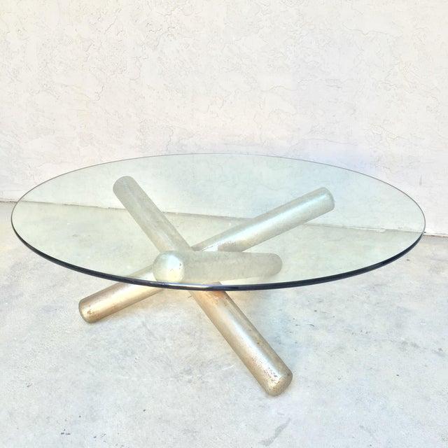 Milo Baughman Sculptural Tripod Coffee Table - Image 2 of 10