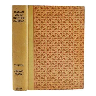 'Italian Villas & Their Gardens' by Edith Wharton