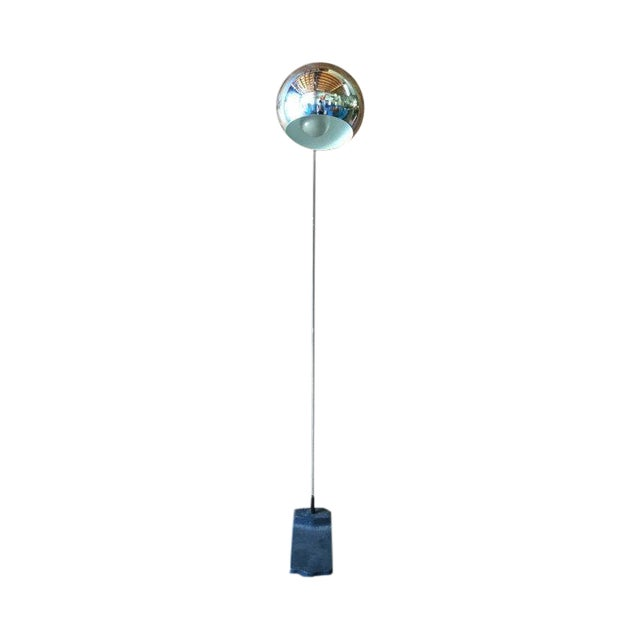 Vintage Arc Chrome Floor Lamp - Image 1 of 4