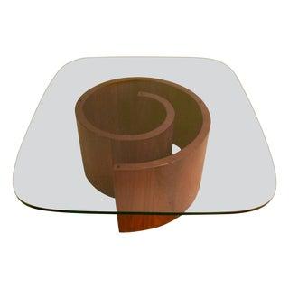 Vladimir Kagan Style Snail Coffee Table