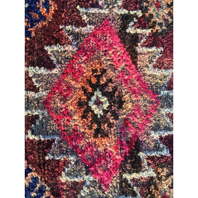 "Vintage Turkish Oushak Runner - 3' x 9'2"" - Image 7 of 11"