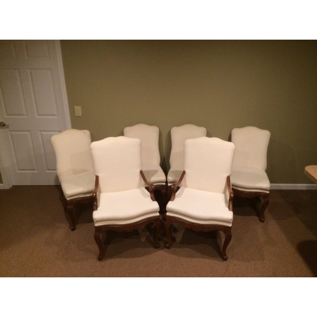 Image of Baker French Country Dining Chairs - Set of 6