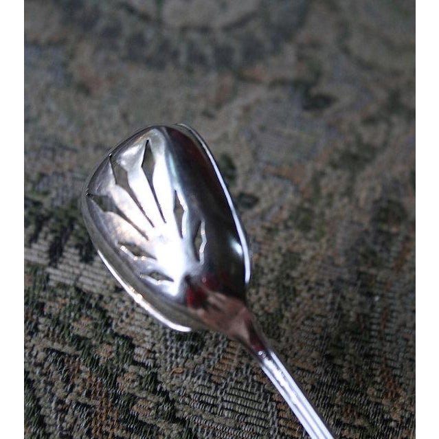 Towle Sterling Co. Short Handle Olive Spoon - Image 4 of 5