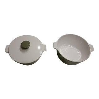 1970's CorningWare Lidded Casserole Pans - Set of 3