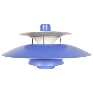 Purple PH5 Pendant Light by Poul Henningsen