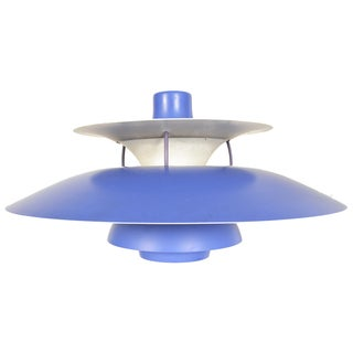 Purple PH5 Pendant Light by Poul Henningsen