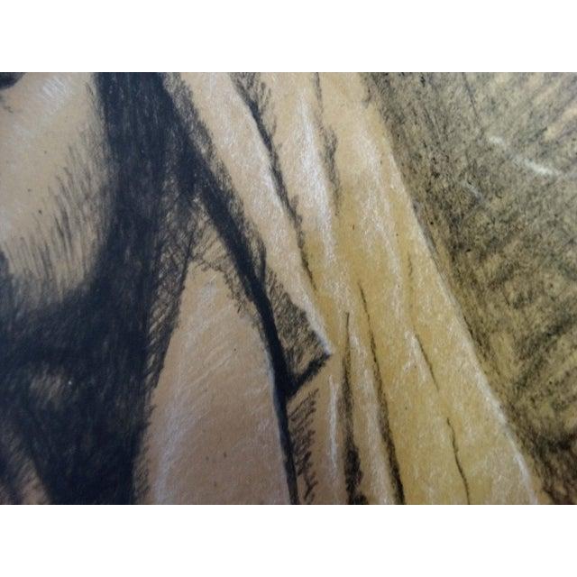 Image of Framed Pencil Drawing by David Eugene Henry
