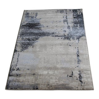 Contemporary Brown Abstract Rug - 8' X 10'7''