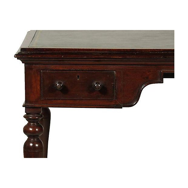 19th Cemtury British Colonial Writing Table - Image 6 of 7