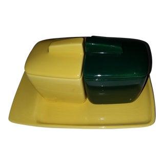 Franciscan Pottery Serving Condiment Platter Set