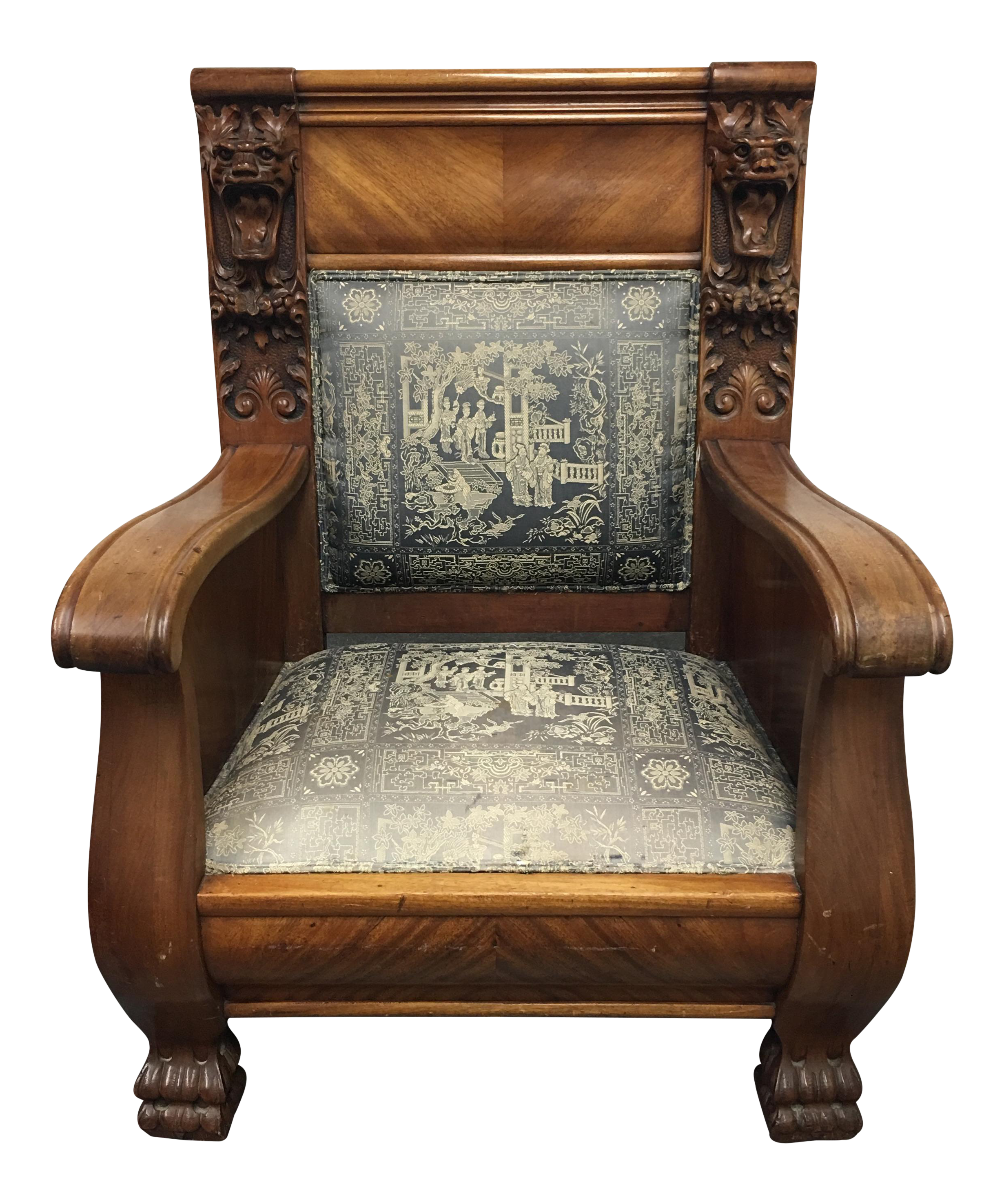 Vintage Used Accent Chairs Chairish