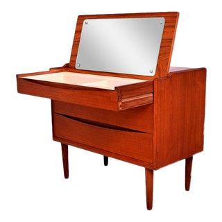 Arne Vodder Secretary Vanity Desk Dresser for Sibast