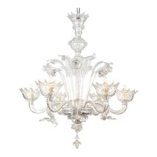 Italian Vintage Murano Glass Chandelier