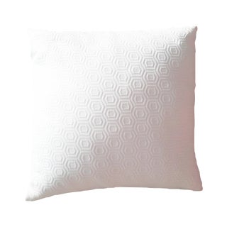 White Honeycomb Pillow