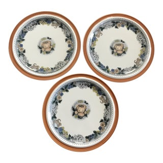 Goebel Country Burgund Plates - Set of 3