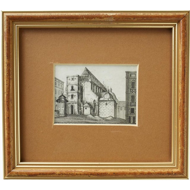 Image of Gold Frames Prints From Krakow, Poland