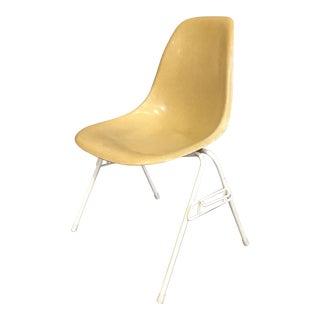 Eames for Herman Miller Yellow Fiberglass Side Shell Chair