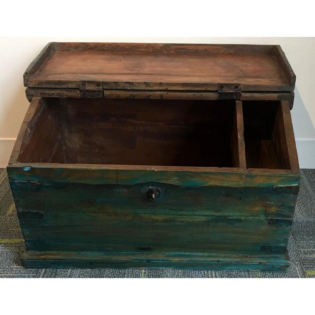 Antique Child's School Desk Box - Image 2 of 7