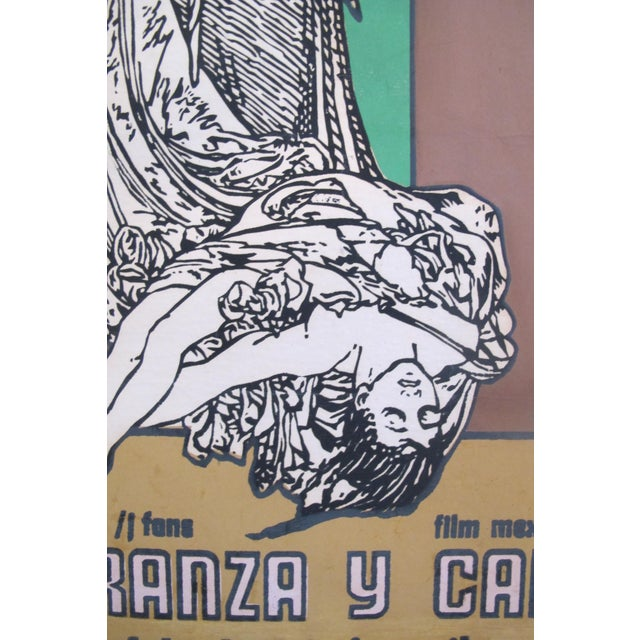 1974 Cuban Movie Poster, Fe, Esperanza y Caridad - Image 3 of 5