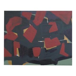 Gunter Tollmann Abstract Painting