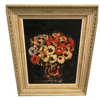 Still Life Flowers Oil Painting