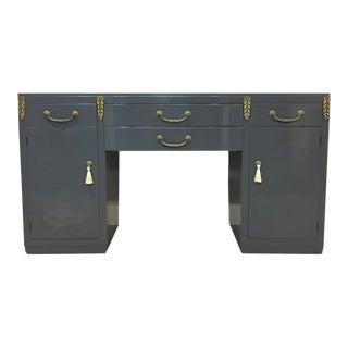 High Gloss Gray Sideboard