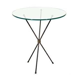 Vintage Italian Tripod Side Table