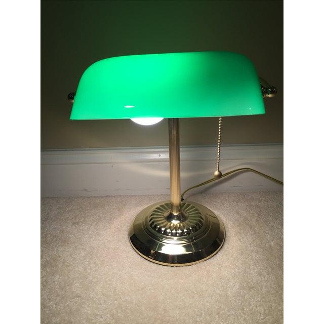 Retro Inspired Brass Desk Lamp - Image 3 of 7
