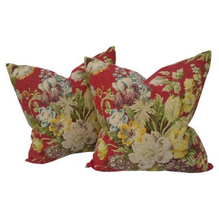 Vintage Liberty of London Floral Pillows